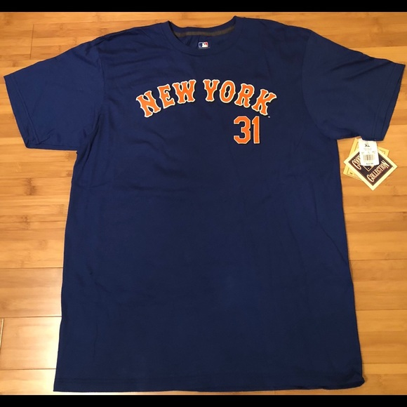 free shipping e5672 7f796 Men's New York Mets Piazza Jersey Shirt NWT NWT